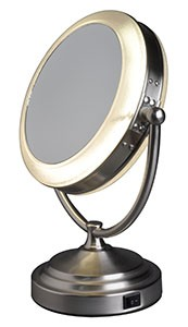 7051-RP Daylight Cosmetic Mirror 5x Magnification & 1x Regular Image - 7051-RP