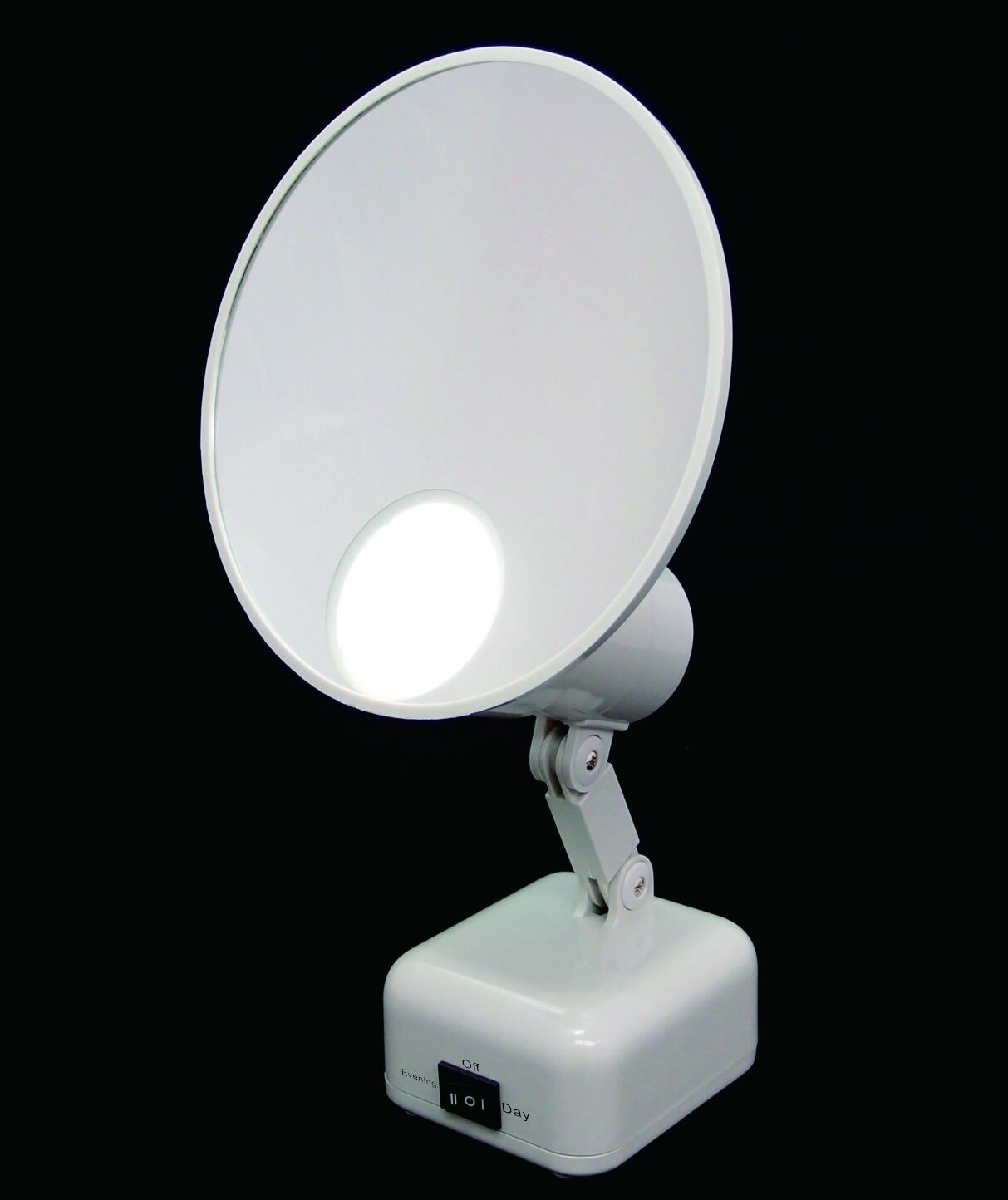 "FL-510-2 5"" Magnifying Mirror LED Lighting 10X"
