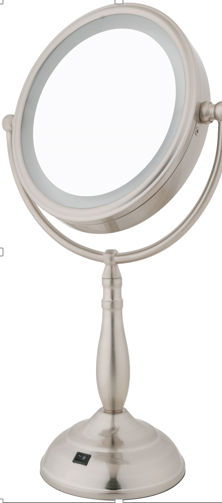 FL-101FMV-2 10X Plus 1X LED Lighted Mirror