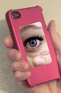 FL-1SS Cellphone Cosmetic Mirror with Double-Sided Tape