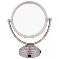 "FL-11J 11"" ProSize Lighted Mirror 8x/1x Magnification"